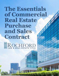Essentials Of Commercial Real Estate Purchase and Sales Contract eBook Cover
